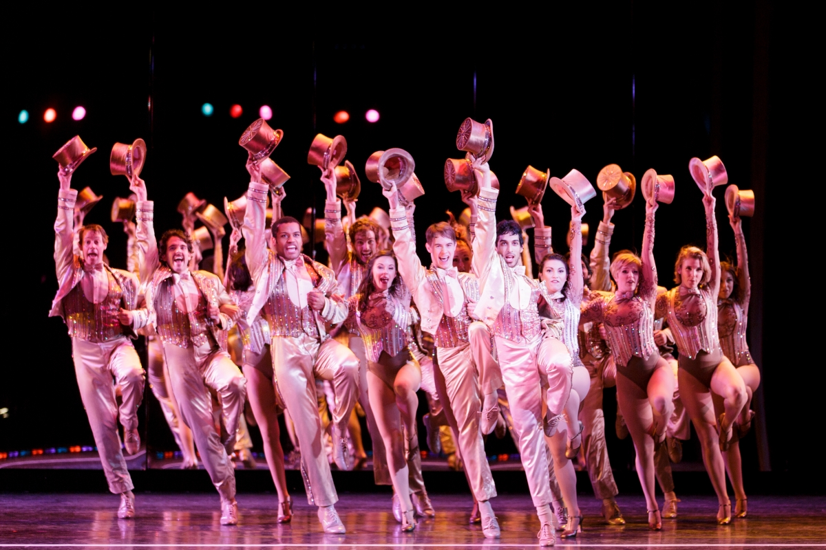 The 5th Avenue Theatre, A Chorus Line, Photo by Mark Kitaoka.
