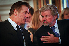 Robert Lynch and Alec Baldwin