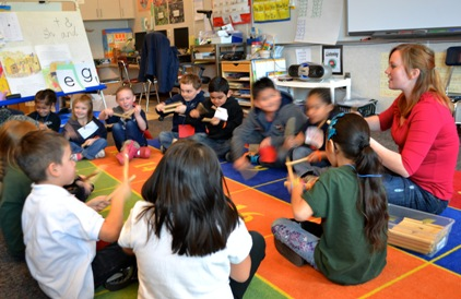 Reading in Motion utilizes movement and music to engage students.