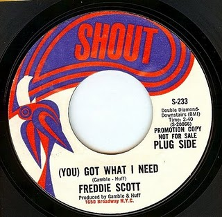 Freddie Scott - You Got What I Need