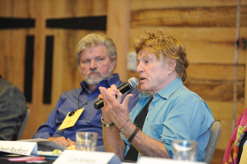 Robert L. Lynch and Arts Advocate/Actor Robert Redford at our National Arts Policy Roundtable. Oct. 2012
