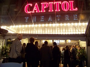 Capitol Theatre, Opening Night