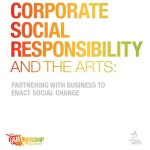Corporate Social Responsibility and the Arts Toolkit cover, from the pARTnership movement.