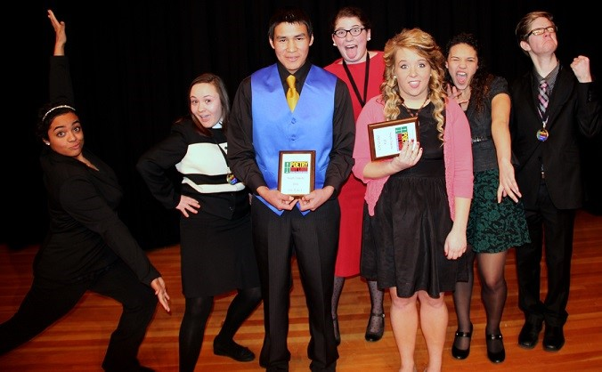 2014 South Dakota Poetry Out Loud state finalists (Credit: Stephen Thurman)