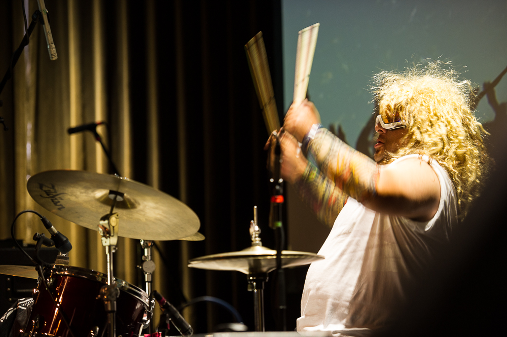 Mad drumming from The Red Keyes / photo by Erica Ann Photography