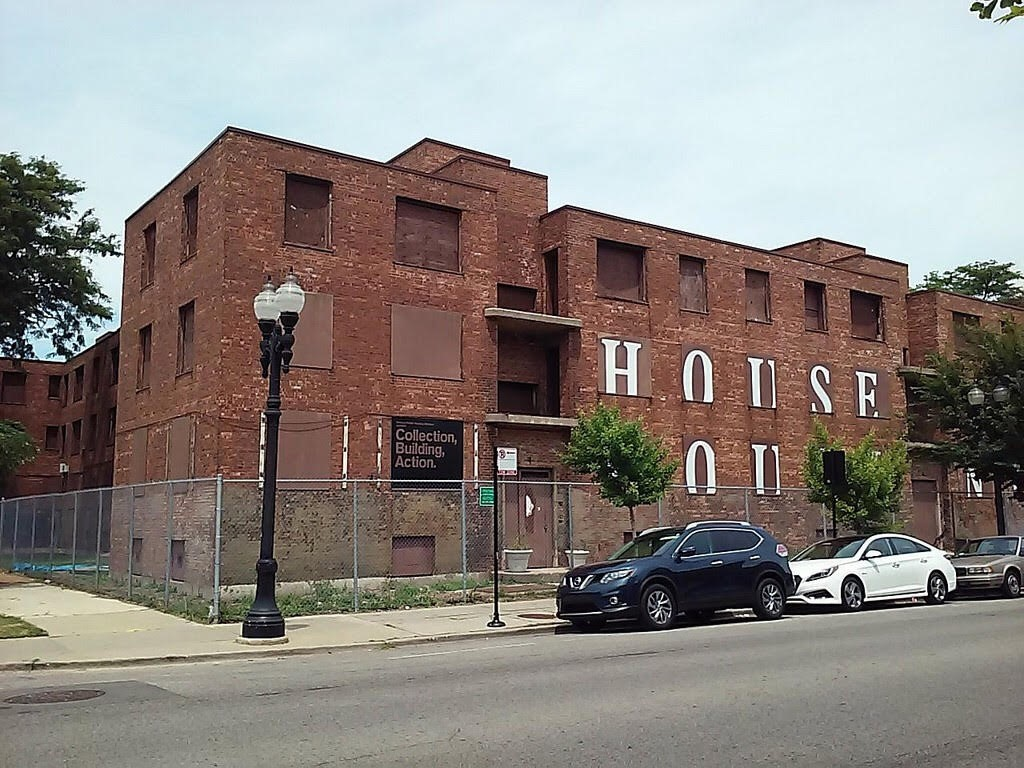 Future home of the National Pubic Housing Museum at historic Jane Addams Homes. (Photo courtesy of NPHM.)
