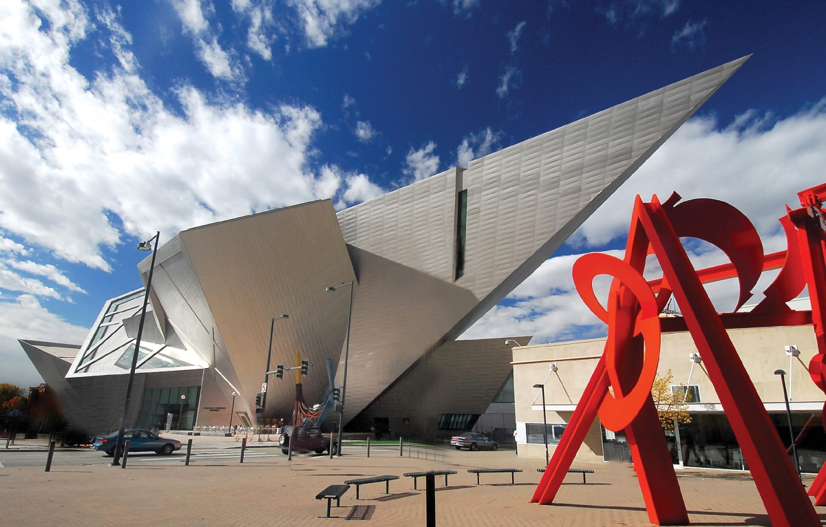 Denver Art Museum. Photo by Stevie Crecelius.