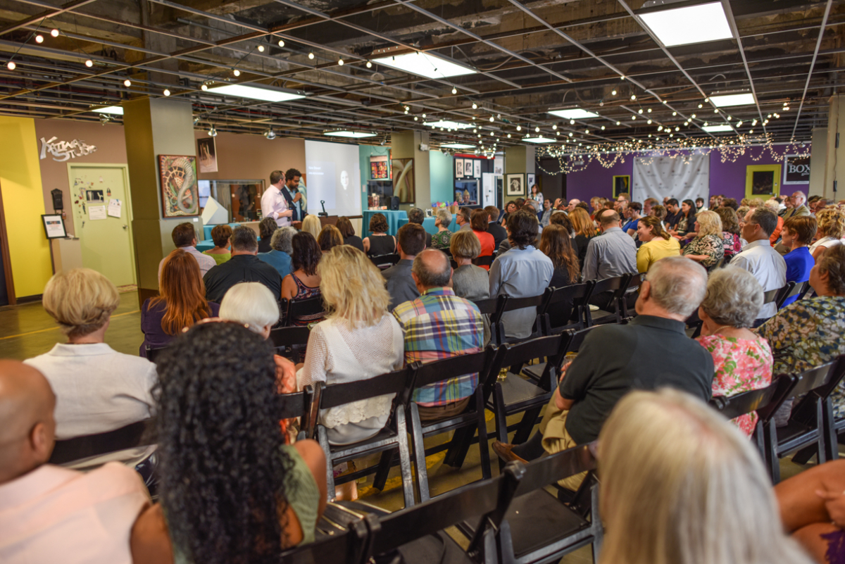 Summit Artspace hosts presentations supporting local artists.